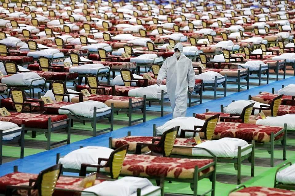 ২৪ ঘন্টায় ২,০০০ বেডের করোনা হসপিটাল তৈরী করে দিল ইরানী সেনাবাহিনী