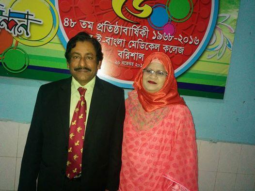 শেবাচিম এর ৪৮ জন্মবার্ষিকে চিকিৎসক নেতা অধ্যাপক ডা. শরফুদ্দিন আহমেদ।