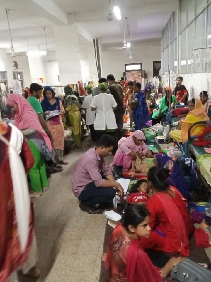 ডেঙ্গুতে বাংলাদেশে ২৩ জন মারা গেছেন:৩২ হাজার ৩৪০ জনকে চিকিৎসা দান